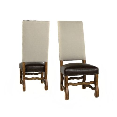 Ane Side Chair Herringbone Oatmeal /Primo Tim/Earth Fin
