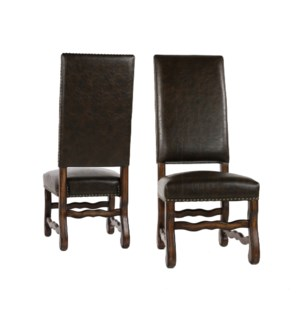 Ane Side Chair Primo Timber / Chestnut Finish