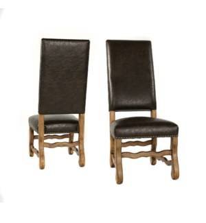 Ane Side Chair Primo Timber / Earth Fin