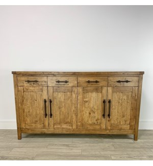 "Aspen Buffet 72"" 4 Dr/4 Drw Earth"