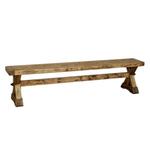 "Aspen Bench 82"" Earth JW"