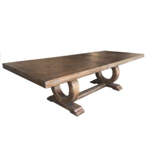 Gallery Dining Table 90/112 Driftwood