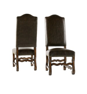 Hayden Side Chair All Primo Timber/Chestnut
