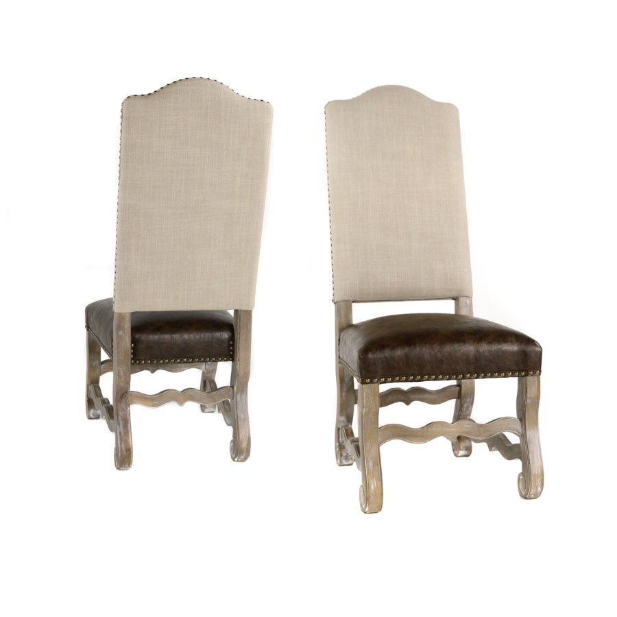 Hayden Side Chair Natural Linen/Primo Timber Driftwood