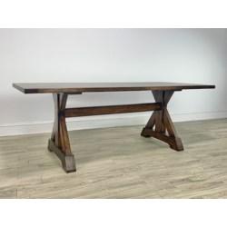 "Harper 84""x38"" Dining Table Chestnut"