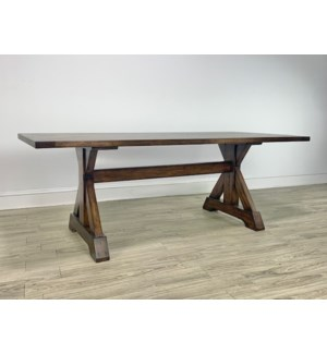 "Harper 84"" Dining Table Chestnut"