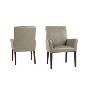 Hudson Arm Chair Primo Stone/ P110