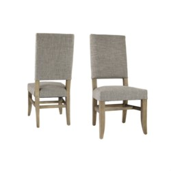 Claire Side Chair Linen Clay Driftwood