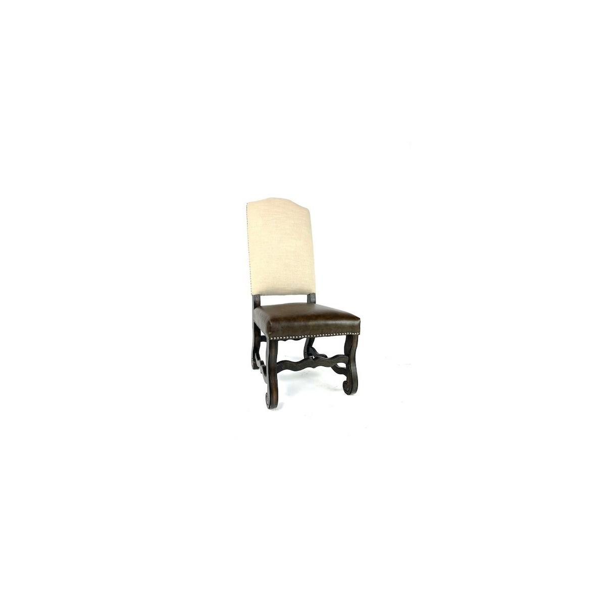 Hazel Side Chair Nat Lin/Pri Tim/DkWal