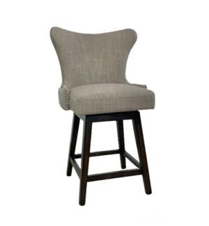 Ruby Swivel Counterstool Linen Clay IH319