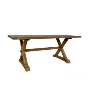 "Mimi Dining Table 72""x38""x30.5"" Natural"