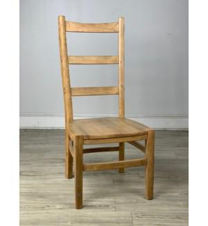 Newark Side Chair Wood Seat Earth
