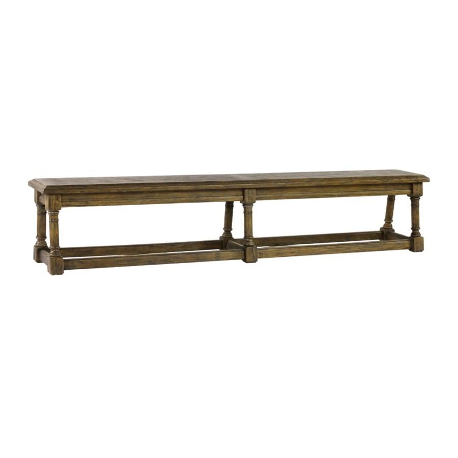 "Nottingham Bench 92""Lx14""x18"" Driftwood"