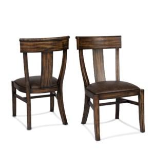 Audrey Chair Primo Timber / Dark Walnut