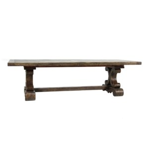 """Sierra Dining 108"""" to 144"""" Driftwood"""
