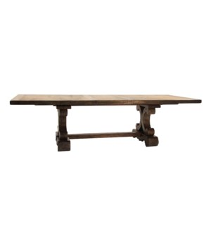 "Sierra Dining 88"" to 110"" Driftwood"