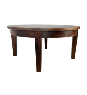 Classic Round Coffee Table Chestnut
