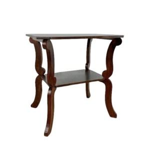 Biedermeier Side Table Chestnut