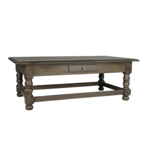 Cardiff Coffee Table 30x54x19 Light Salvage