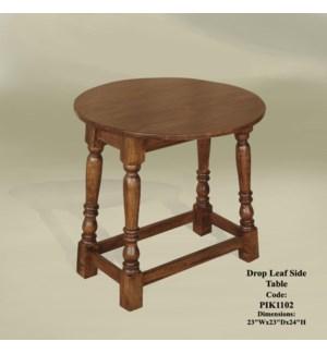 Drop-leaf Side Table 24x24x24 (CH)