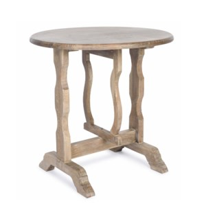 Flip Top Round Table SAL 30x30x30