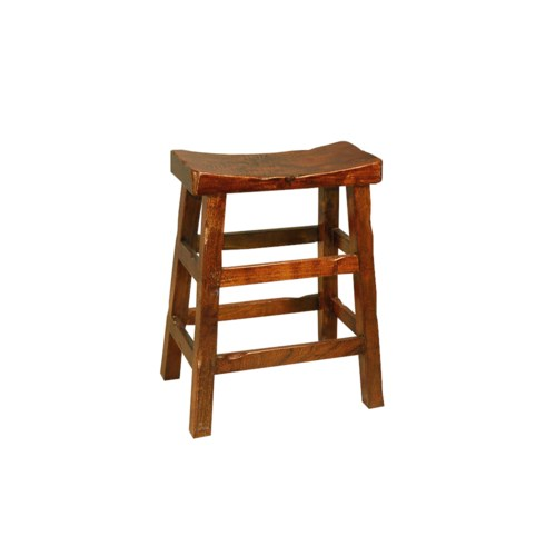Saddle Stool Medium (CH) 8x18x24