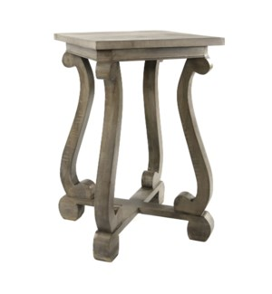 Austrian Square Side Table Salvage