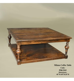 Milano Coffee Table 48x48x20