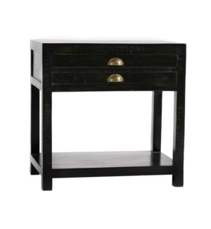 Mariner Side Table Black