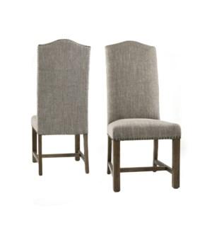 Sharon Chair Linen Clay / Driftwood