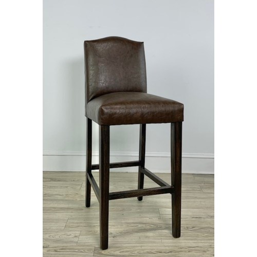 Sharon Barstool Primo Timber/ Dark Walnut