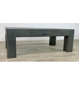 Vigas Coffee Table Char Grey/ 52x20x31