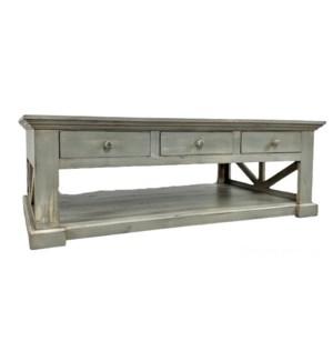 San Rafael Coffee Table Fea Grey 59x35x20