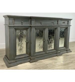 Modern Cabinet Charcoal Grey/ 79x42x19