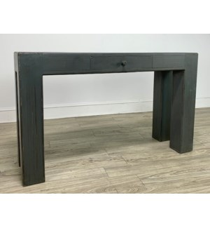 Vigas Console Charcoal Grey 55x33x16