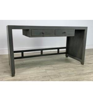 Vertical Desk 2 Drw Char Grey 59x24x31