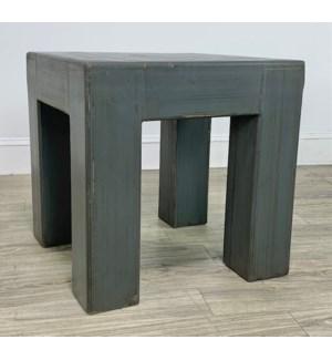 Vigas Side Table 24x24x24 Char Grey