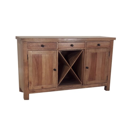 Alpine Buffet Earth Finish / Pecan Wood