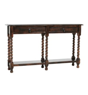 Bentley Barley Twist Console Tobacco