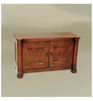 Biedermeier TV Cabinet Small Tobacco