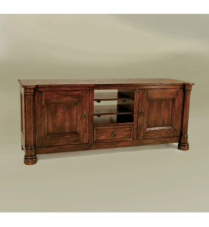 Biedermeier TV Cabinet Large Tob. Dist