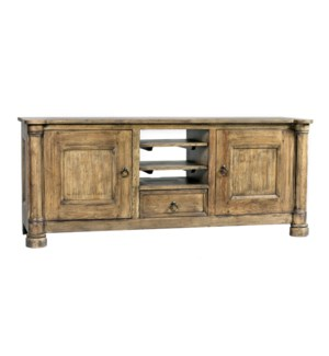 Biedermeier TV Cabinet Large Driftwood