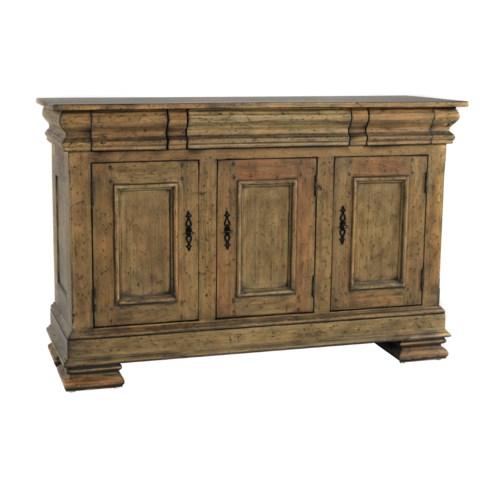 Biltmore Sideboard LG WD Panels Driftwood
