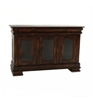 Biltmore Sideboard LG w/Glass Tobacco
