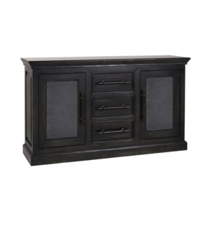 Calvin TV Stand Weathered Black