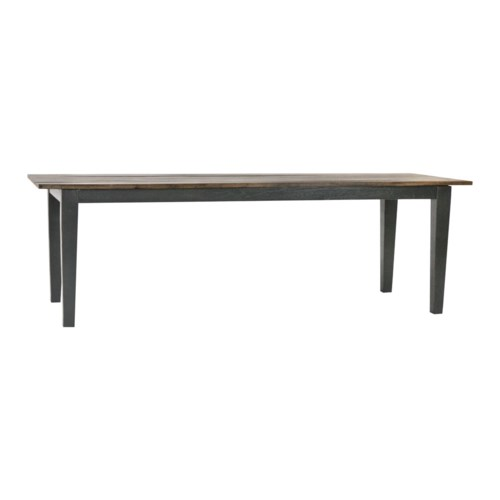 """Cottage Table 96""""x36"""" Narrow OWS/Driftwood"""
