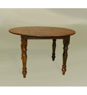 "Cottage 48"" Round Dining Table Chestnut"