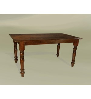 "Cottage 84""x43"" Dining Table Chestnut"