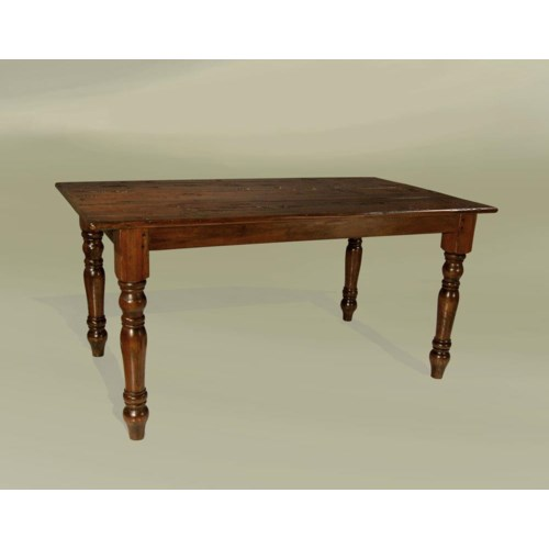 """Cottage 84""""x43"""" Dining Table Chestnut"""