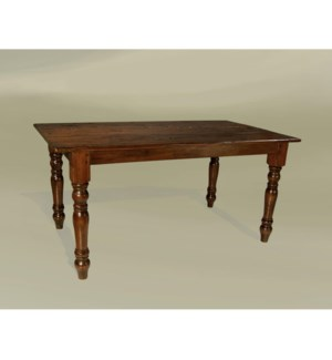 "Cottage 96""x45"" Dining Table Chestnut"